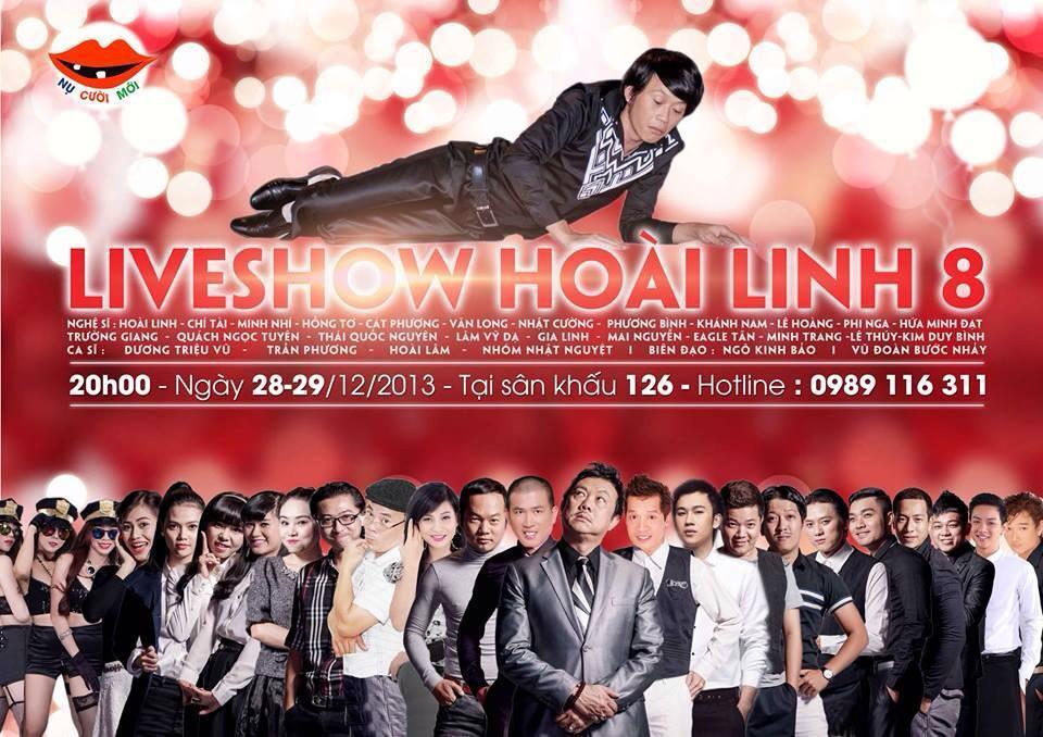 Poster Live show Hoài Linh 8