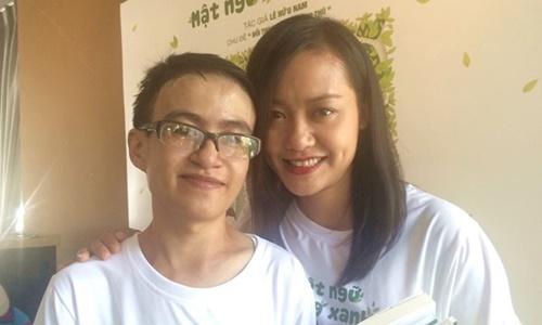 """Diễn viên Hồng Ánh """"bị"""" chinh phục bởi cây bút trẻ Lê Hữu Nam"""