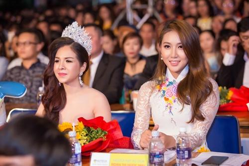 Hoa khôi Ngọc Như - giám khảo trẻ nhất tại đêm chung kết
