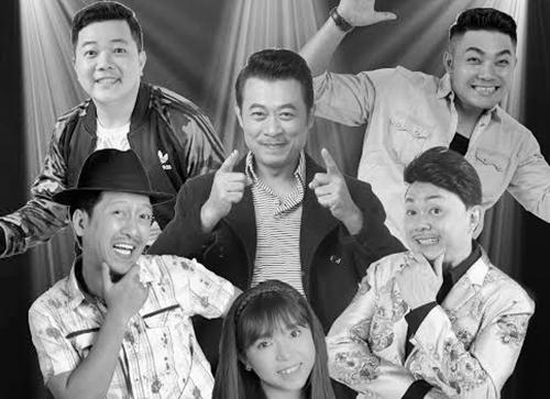 Các danh hài góp mặt trong chương trình Kha Kha Kha tuần này tại nhà hát the V Show