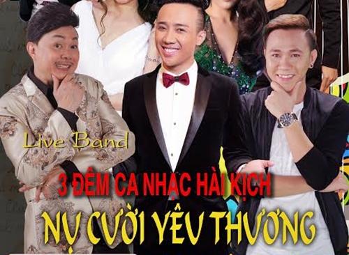 Các danh hài Chí Tài, Trấn Thành và Anh Đức sẽ tái ngộ khán giả tại sân khấu The V Show tuần này