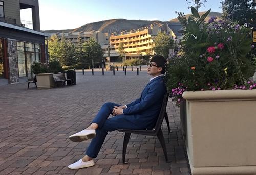 Phút thư giãn của Tiến Phạm tại Avon, Colorado