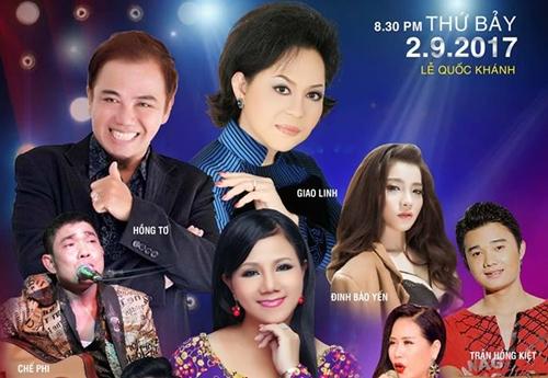 Chương trình ngày 2/9 tại Sân khấu The V Show