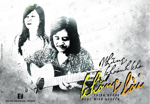 Album 'Những khoảnh khắc không lời' gồm 1 CD và 1 tập thơ - nhạc của Trịnh Hương và Ngọc Minh Nguyên