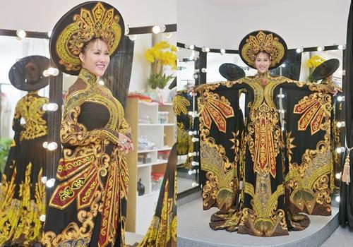 Lộ diện quốc phục chính thức của Phi Thanh Vân trong đêm chung kết