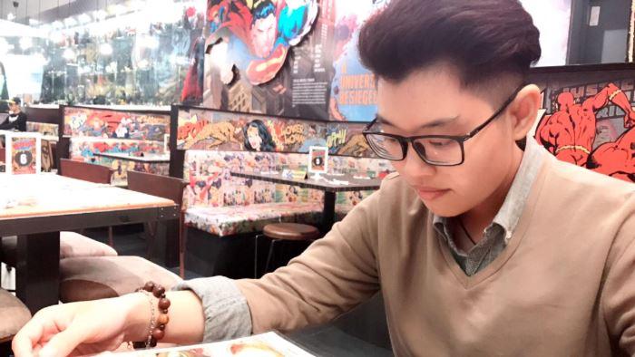 Nhạc sĩ trẻ Đinh Lăng, học trò cưng của ca nhạc sĩ Thanh Bùi
