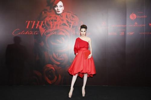 Hoa hậu Trần Ngọc Trâm tại sự kiện The Muse 2