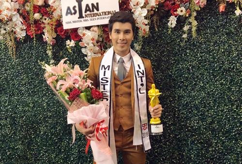 Hoàng Phi Kha giành ngôi vị Á vương 2 tại Mister Asian International 2018