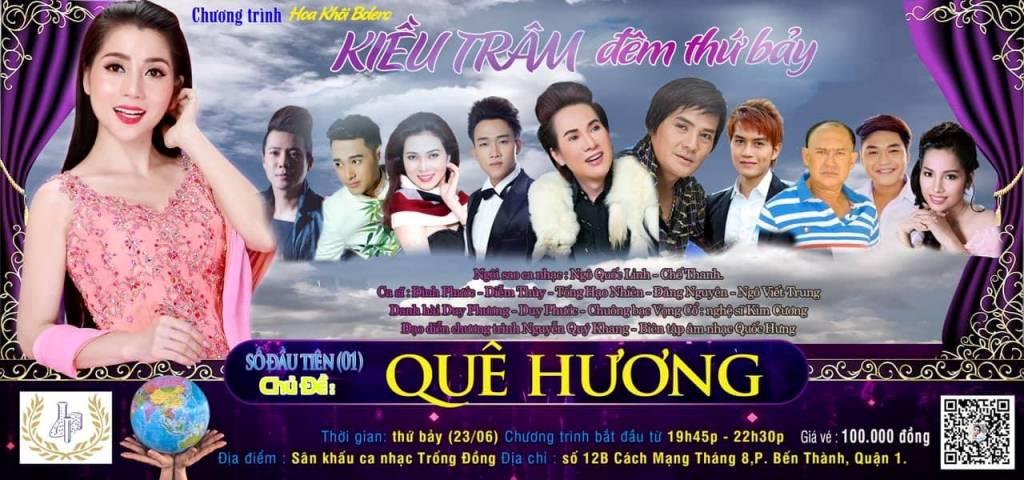 Poster chương trình đầu tiên tại Trống Đồng