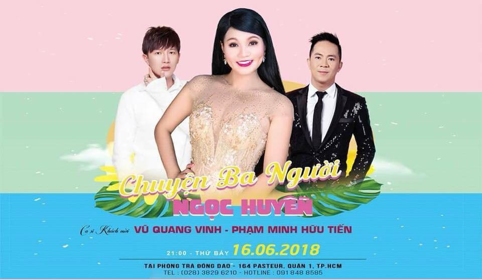 Poster đêm nhạc Chuyện ba người
