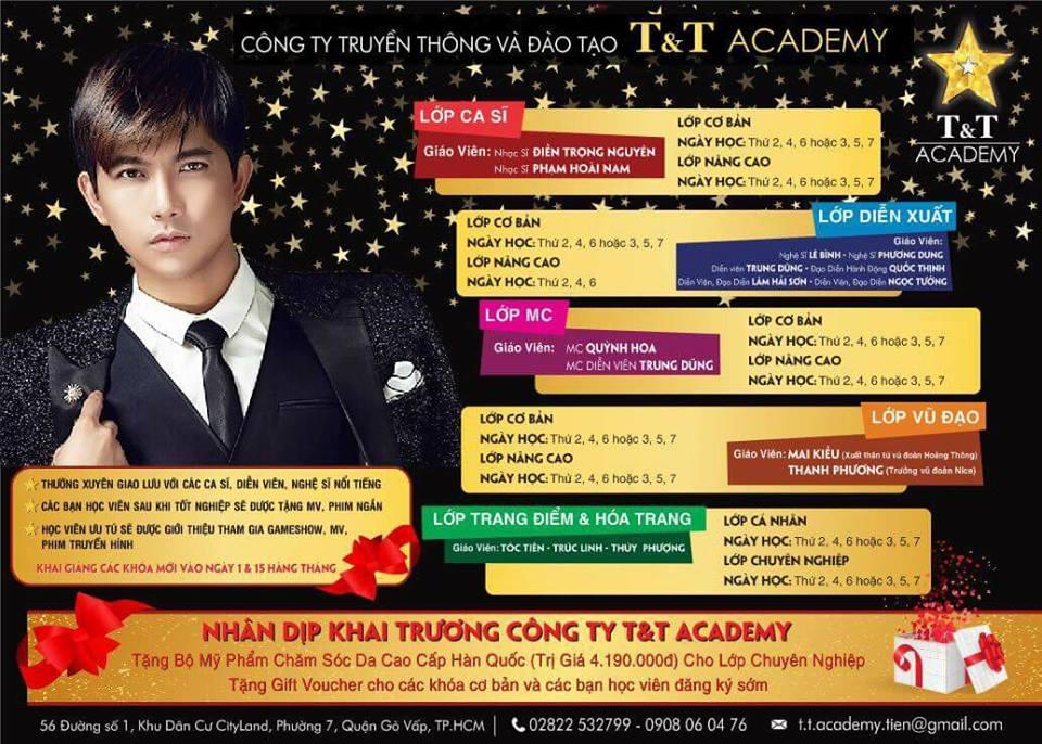 Các hoạt động chính của Công ty T&T Academy