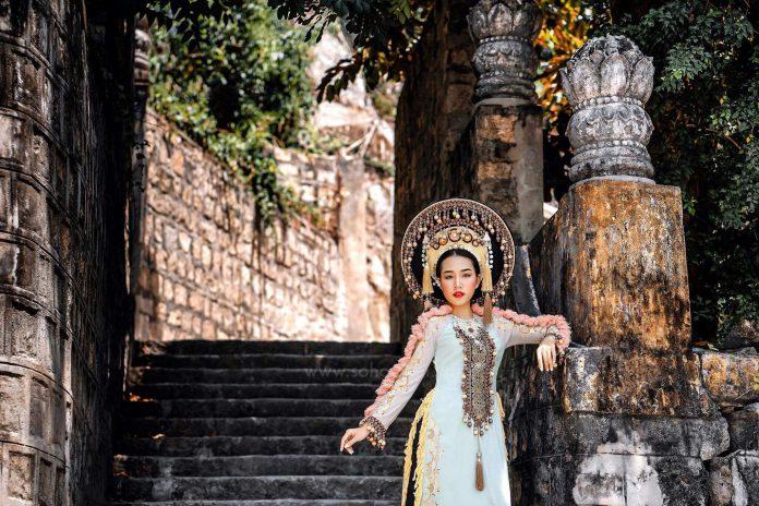 Bộ ảnh Ngọc Phương Đông đầy ấn tượng của Hoa hậu Người Việt Liên Lục Địa 2018 – Trần Ngọc Châu
