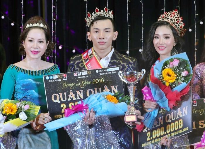 Tân Hoa khôi và Nam vương ĐH Y Dược TP.HCM