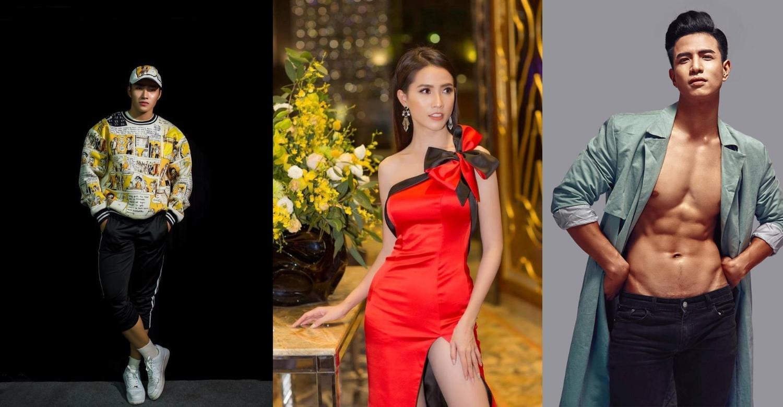 Siêu mẫu Đặng Công Sơn (Giải Đồng siêu mẫu 2018) – Hoa hậu Phan Thị Mơ – Siêu mẫu Trịnh Văn Bảo (Giải Đồng siêu mẫu 2018)