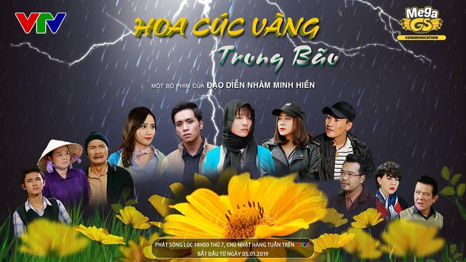 Các diễn viên trong phim Hoa cúc vàng trong bão