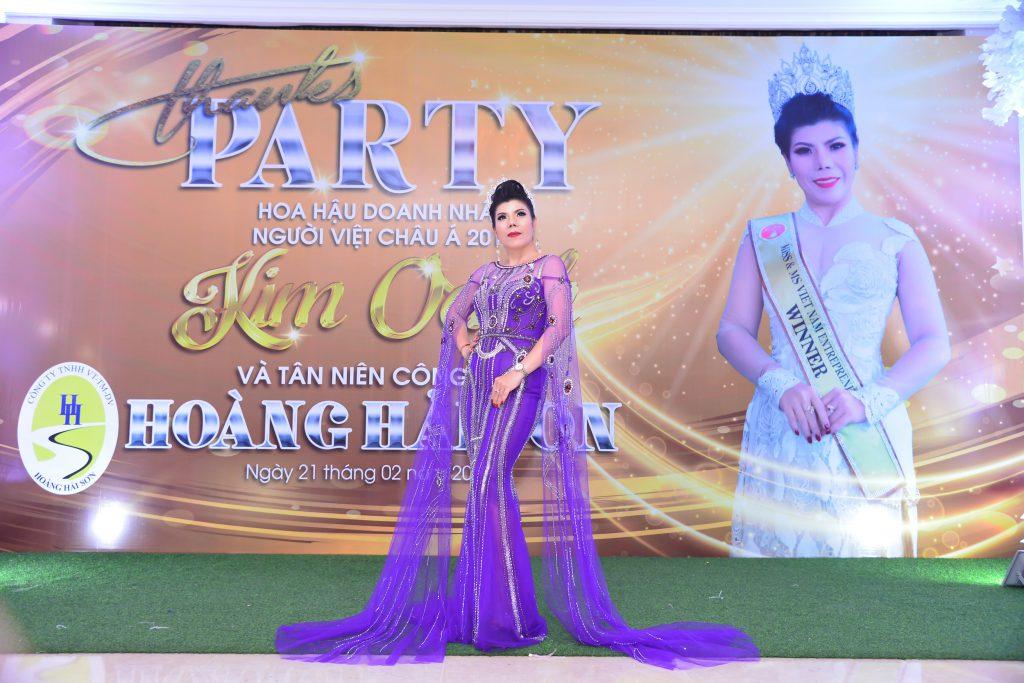Hoa hậu Kim Oanh