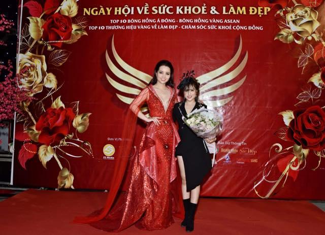 Diễn viên Mai Thu Huyền và NTK Ngọc Hồng