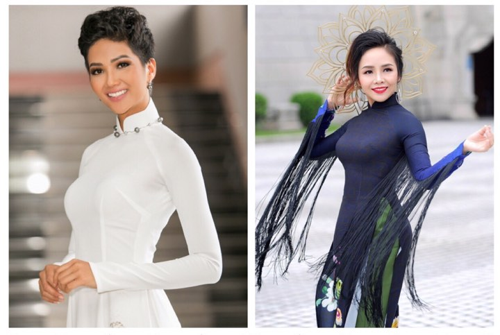 Hoa hậu H'Hen Niê và Á hậu Hiền Nguyễn