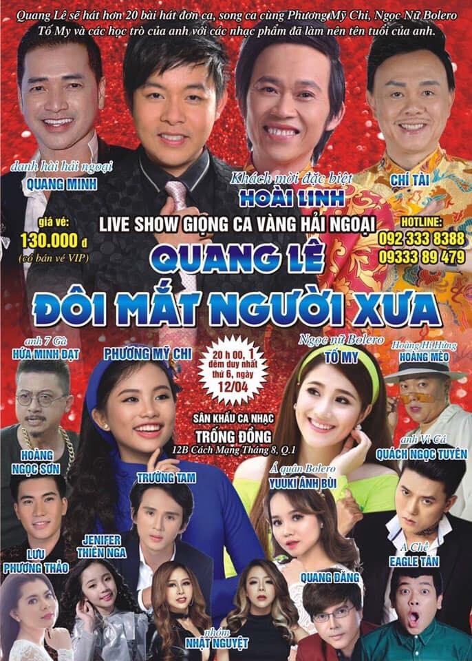 Liveshow Q Le Poster