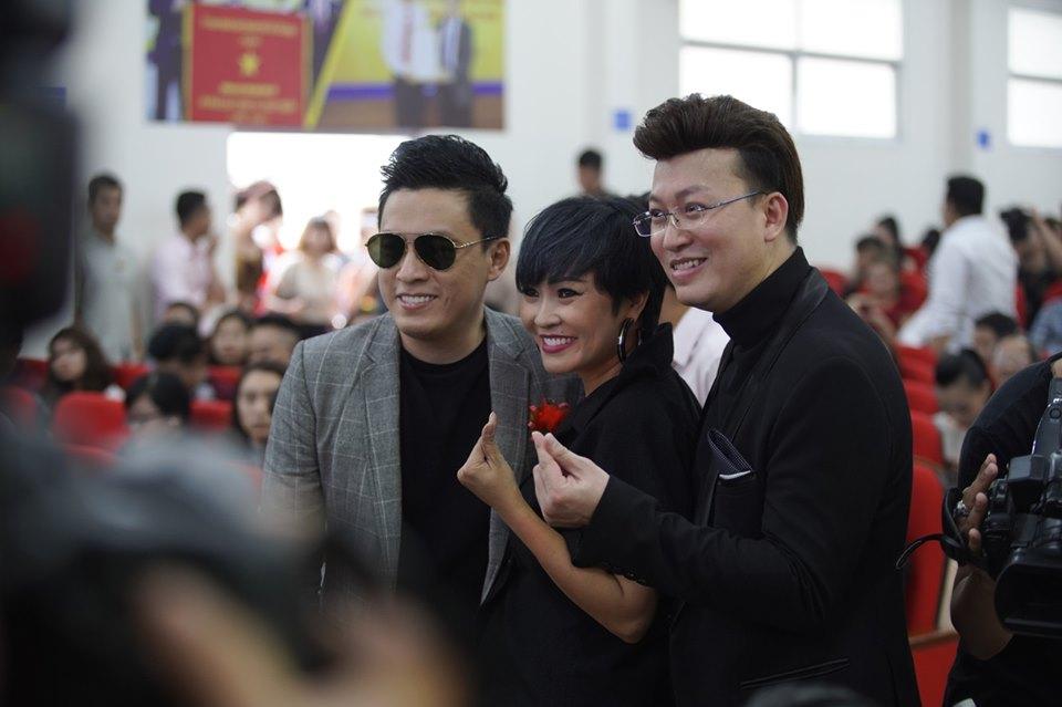 Ca sĩ Lam Trường, Phương Thanh đến ủng hộ Sỹ Luân