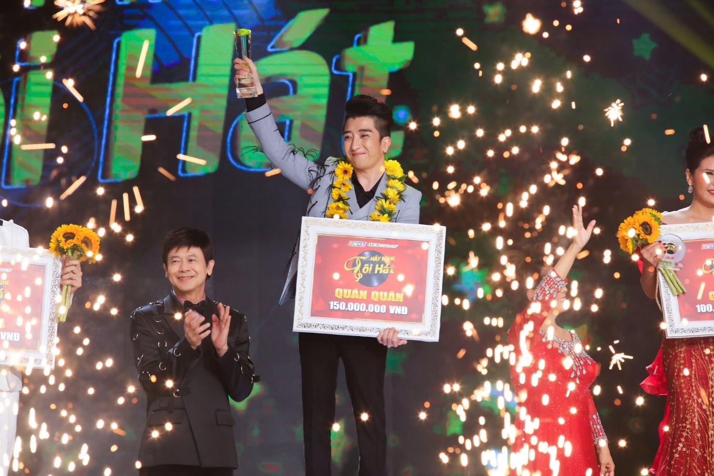 Phút đăng quang của Vũ Phương trong đêm chung kết Hãy Nghe Tôi Hát 2019
