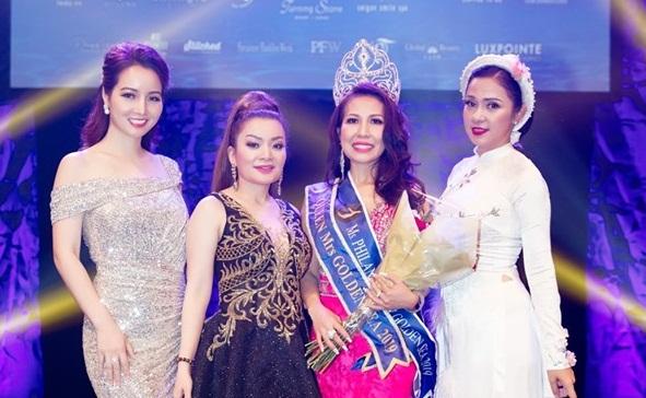 Hoa hậu Annie Kim Nguyễn và các vị giám khảo nổi tiếng