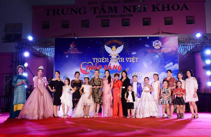 Đêm thiện nguyện ý nghĩa tại bệnh viện Trung ương của thí sinh Thiên thần Việt