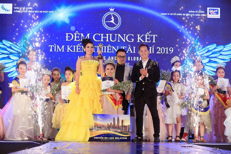 Phút đăng quang của bé Tsai Triệu An