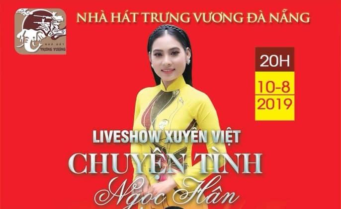 Liveshow Ngọc Hân dời sang ngày 10-8