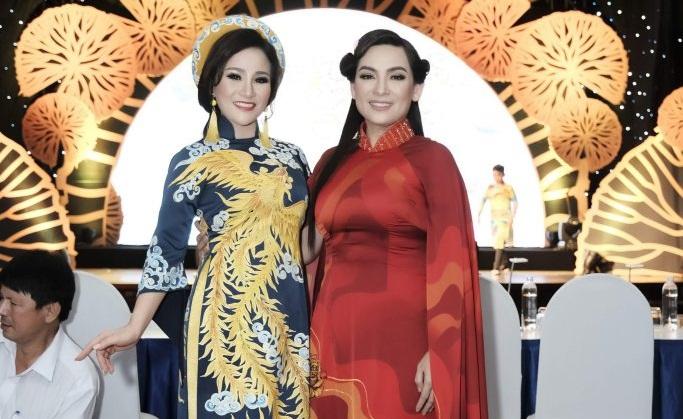Hoa hậu Nguyễn Lan Vy và ca sĩ Phi Nhung