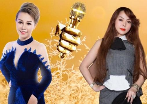 2 chị em ca sĩ Cindy Trần và Trần Khánh Hồng