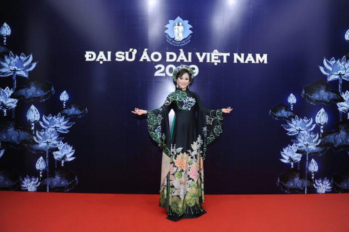 Hoa hậu Lan Vy tại sự kiện