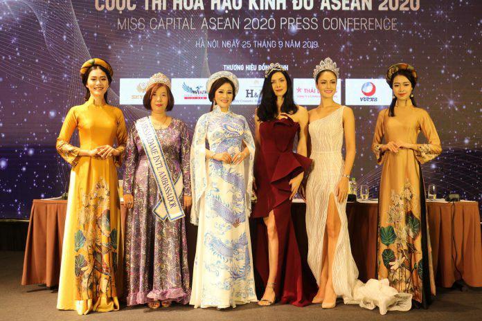 Hoa hậu Nguyễn Lan Vy hội ngộ hoa hậu Hoàn vũ Thế giới 2015 Natalie Glebova, hoa hậu Thái Lan và các người đẹp trong khu vực