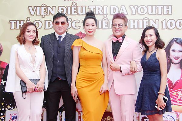 Á khôi doanh nhân Lưu Bích Nga, diễn viên Hoàng Phúc, NSƯT Trịnh Kim Chi, MC Thanh Bạch, CEO Lê Phạm