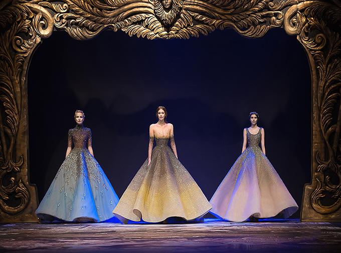Ombre được ứng dụng trong bộ sưu tập áo cưới gây sốt trong thời gian qua