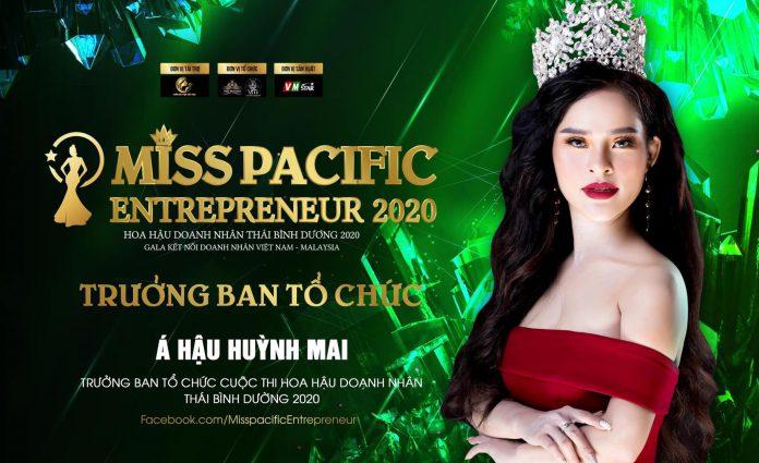 Trưởng BTC - Á hậu Huỳnh Mai