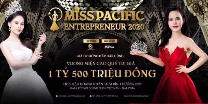 VM Entertainment nỗ lực đưa cuộc thi Hoa hậu Doanh nhân Thái Bình Dương 2020 trở lại