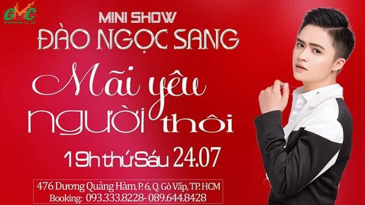 Minishow kỷ niệm 5 năm đi hát của Đào Ngọc Sang