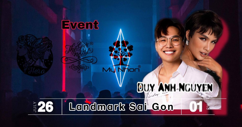 Duy Anh Nguyễn trên Poster của sự kiện sắp tới