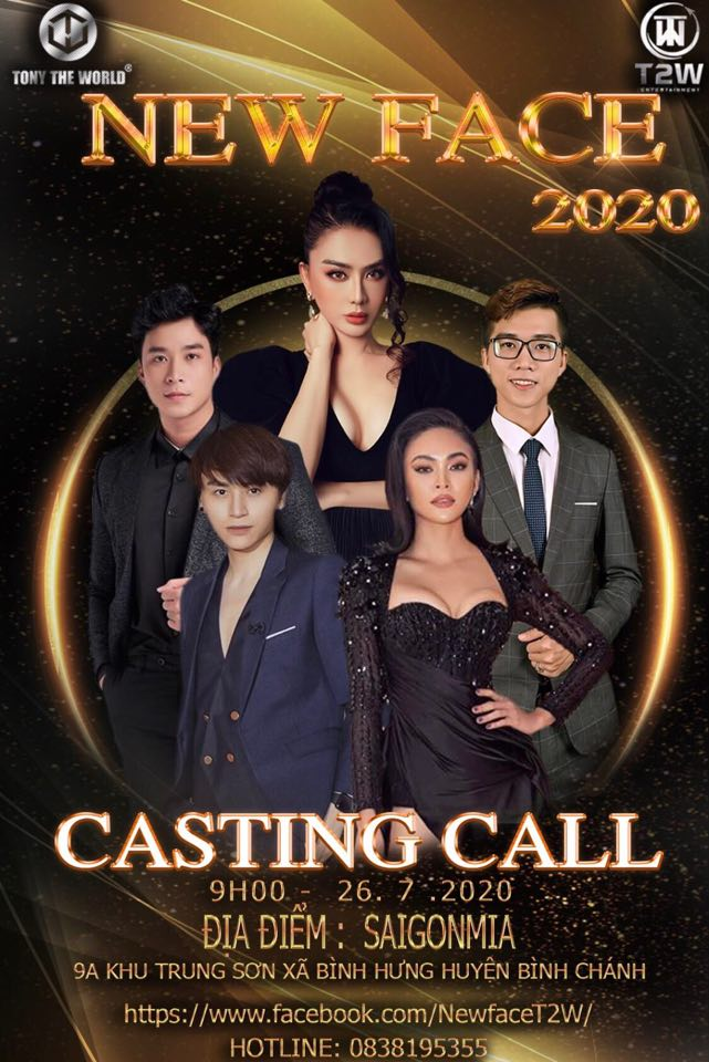 New Face poster Casting