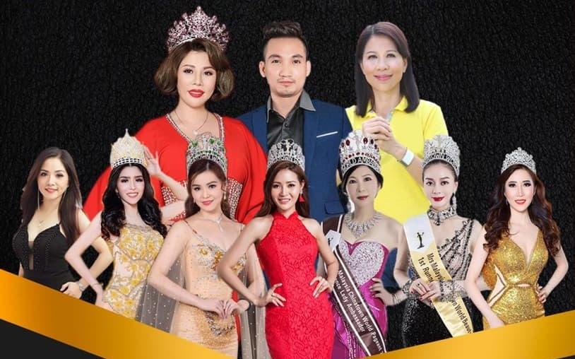Ban tổ chức cuộc thi Hoa hậu Doanh nhân quốc tế Taiwan 2020