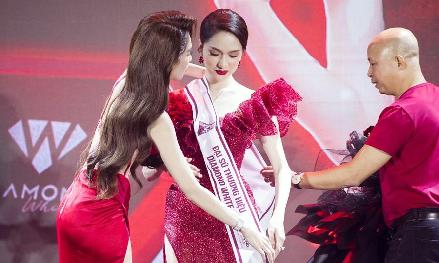 Hoa hậu Hương Giang trở thành Tân Đại sứ thương hiệu Diamond White