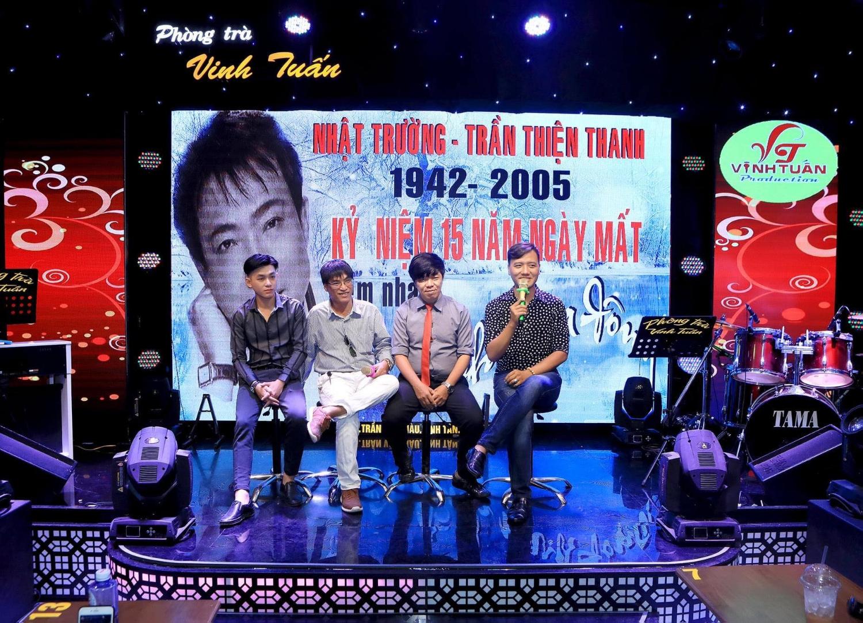 Họp báo giới thiệu đêm nhạc Trần Thiện Thanh