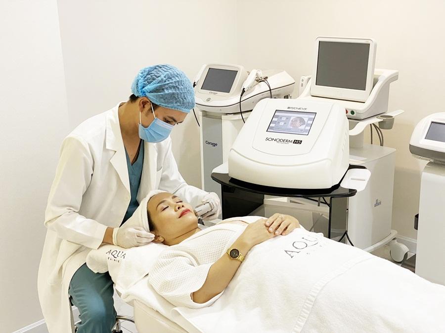 Máy Sonoderm - liệu pháp nâng cơ hiện đại bậc nhất châu Âu