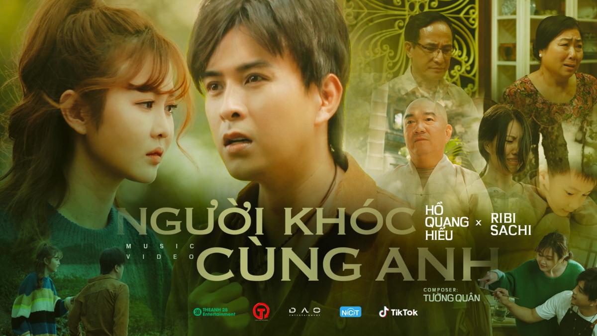 'Người khóc cùng anh' của Hồ Quang Hiếu tiến thẳng Top 5 thịnh hành sau 3 ngày ra mắt