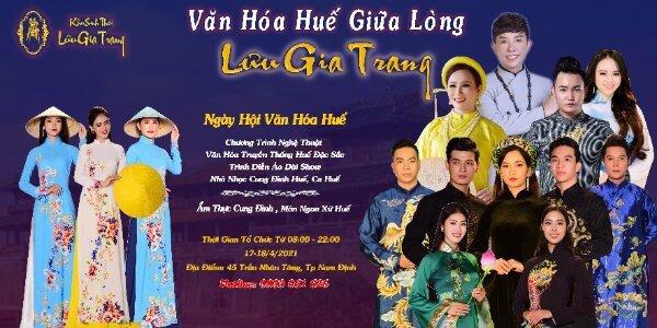 Lưu Gia Trang quy tụ các nghệ nhân tham dự sự kiện Ngày hội Văn hóa Huế