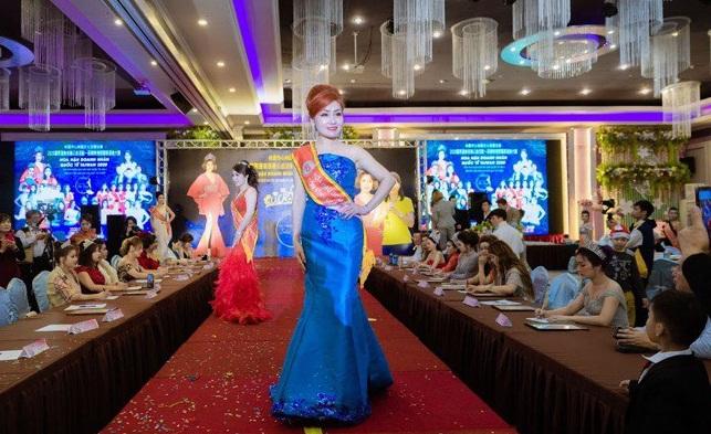 Nữ doanh nhân Đào Nguyệt Thanh tỏa sáng trong cuộc thi Hoa hậu Doanh nhân quốc tế Taiwan 2020