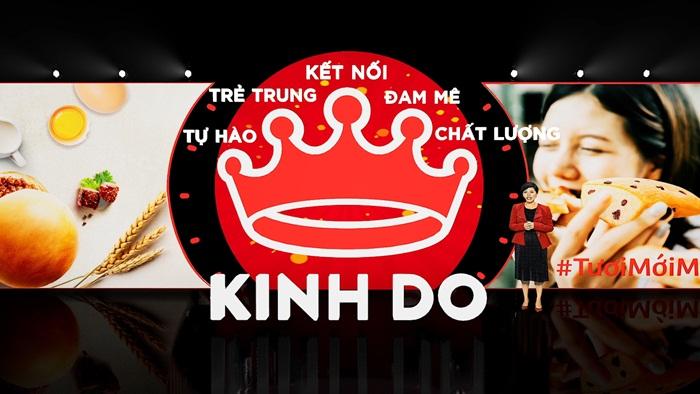 Bánh Kinh Đô có Logo mới